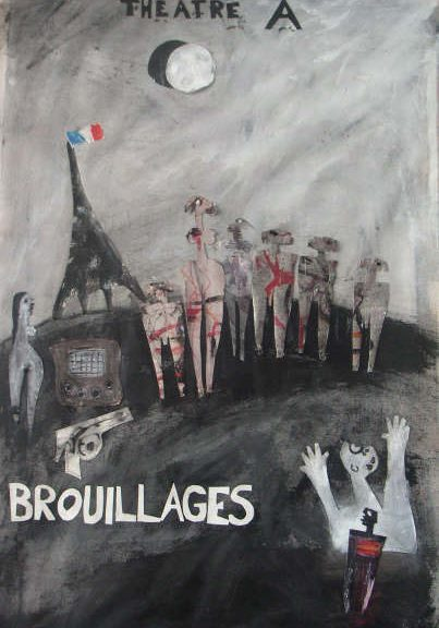 affiche brouillages